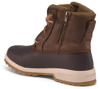 Water Proof Leather Insulated Cold Weather Boots