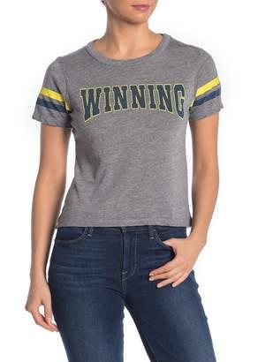 Chaser Winning Stripe Sleeve T-Shirt