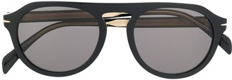 David Beckham Aviator Sunglasses