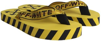 Off-White Flip Flop Sandals