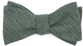Tie Bar West Ridge Solid Hunter Green Bow Tie