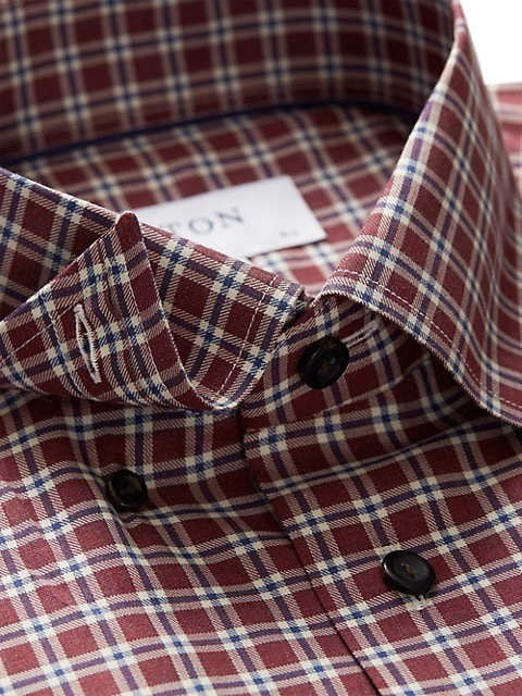 Thumbnail for your product : Eton Contemporary-Fit Plaid Dress Shirt