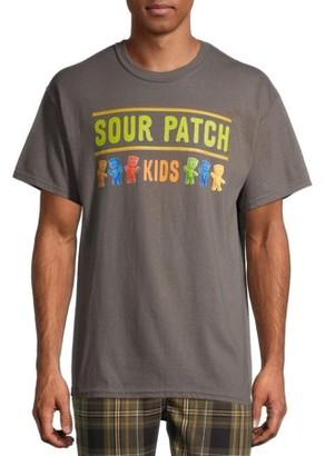Sour Patch Kids Colors Men's and Big Men's Graphic T-shirt