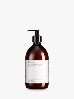 Evolve Organic Beauty Citrus Blend Aromatic Lotion for Hands & Body, 500ml