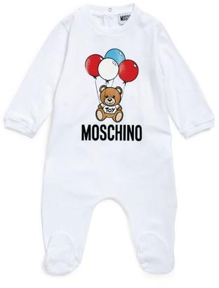 Moschino Kids Bear Logo All-in-One Set