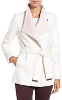 Ted Baker Wool Blend Wrap Coat