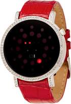 01 The One 01TheOne 01The One Odin's Rage Red Croco Black Dial Women's Watch #ORS502R1