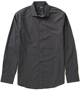 Murano Wardrobe Essentials Long-Sleeve Slim-Fit Checked Sportshirt