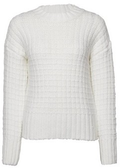 Dorothy Perkins Womens Cream Chunky Jumper With Recycled Yarns, Cream