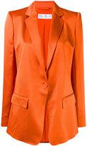 Max Mara Valdai blazer - women - Silk/Polyamide/Acetate - 42