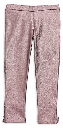 Milly Girl's Zipper Leggings