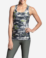Eddie Bauer Women's Movement Racerback Tank Top - Print