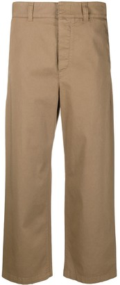 DEPARTMENT 5 Cropped Loose-Fit Trousers