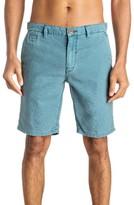 Quiksilver Men's Greenwood Cutty Linen Blend Shorts