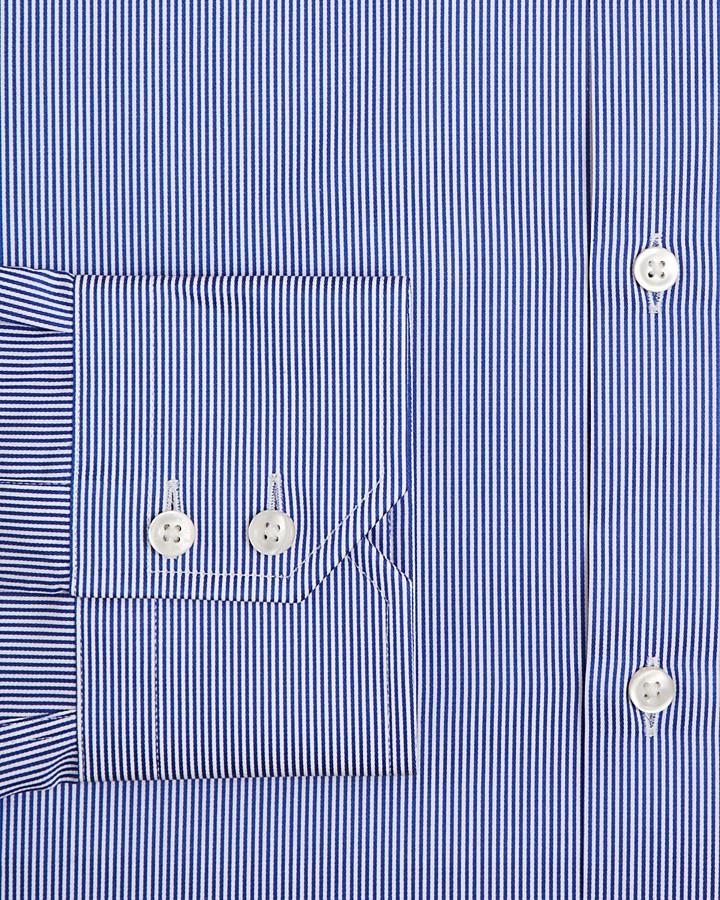 HUGO BOSS Gordon Pencil Stripe Dress Shirt - Classic Fit
