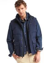 Gap ColdControl Max heavyweight puffer vest