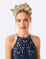 Forever New Bella Flower & Pearl Fascinator