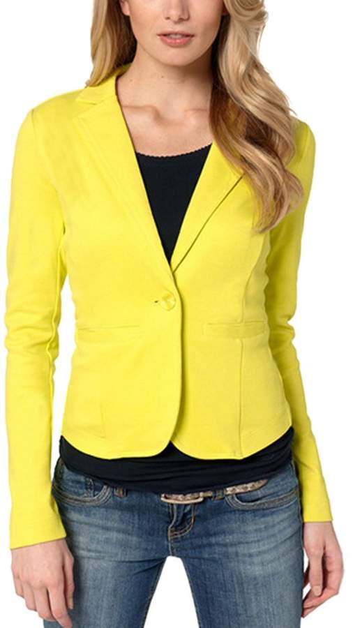save off 9434f 65f1b Yellow Blazers For Women - ShopStyle Canada
