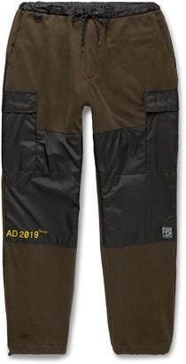 Flagstuff Slim-Fit Shell-Trimmed Fleece Cargo Sweatpants
