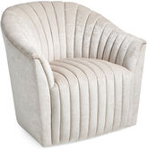 Interlude Channel Chair, Parchment