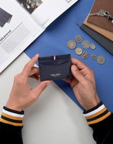 Fred Perry Scotch Grain Card Holder in Navy