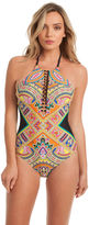 Trina Turk Nepal High Neck One Piece