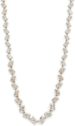Adriana Orsini Rockslide 18K Yellow Goldplated Sterling SIlver & Cubic Zirconia Necklace