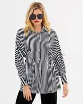 Else Oversize Stripe Shirt