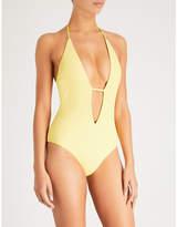 Frankie's Bikinis FRANKIES BIKINIS Lily halterneck swimsuit