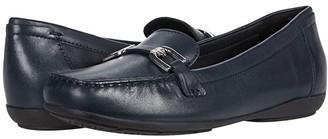 Geox Annytah Moc 2 (Navy) Women's Shoes