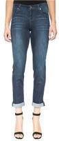 Liverpool Jeans Company Women's Peyton Slim Stretch Crop Boyfriend Jeans