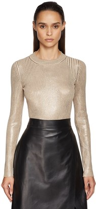 Sportmax Lame Knit Sweater
