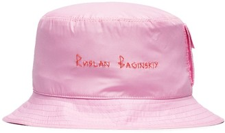 Ruslan Baginskiy Logo Embroidered Bucket Hat
