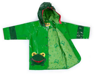 Kidorable Little and Big Boy with Comfy Frog Raincoat