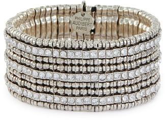 Philippe Audibert 'Greene' Swarovski rhinestone bracelet