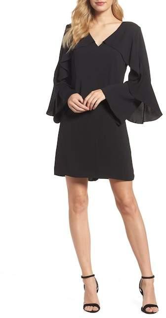 Nordstrom Kobi Halperin Sherryl Ruffle Sleeve Shift Dress Exclusive)