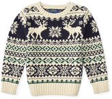 Ralph Lauren Reindeer Cotton Sweater
