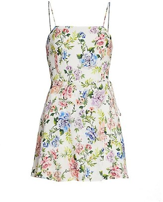 Alice + Olivia Trixie Gardenia Mini Dress