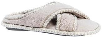Muk Luks Women's Ada Micro Chenille Criss Cross Slippers