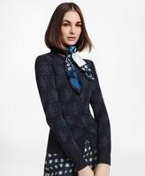 Brooks Brothers Shimmer-Knit Supima Cotton-Blend Signature Cardigan