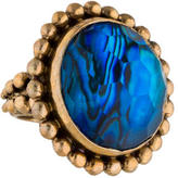 Stephen Dweck Dome Beaded Cocktail Ring