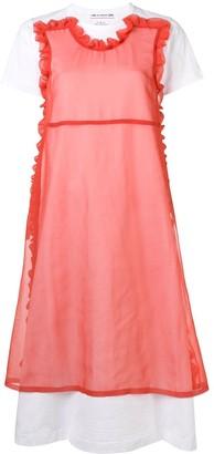 COMME DES GARÇONS GIRL layered T-shirt dress