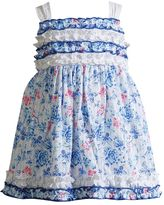 Youngland Baby Girl Floral Ruffled Dress