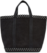 Vanessa Bruno Suede Tote with Eyelets