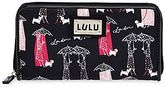 Lulu by Guinness® Print Zip-Around Wallet