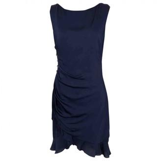 Azzaro Navy Silk Dress for Women