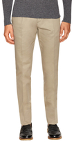 Tom Ford Cotton Solid Twill Trousers