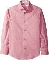 Calvin Klein Kids - Long Sleeve Geometric Shirt Boy's Clothing