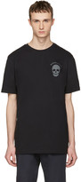 Markus Lupfer Black Logo and Skull T-shirt