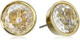 Michael Kors Yellow Tone Stud Earrings